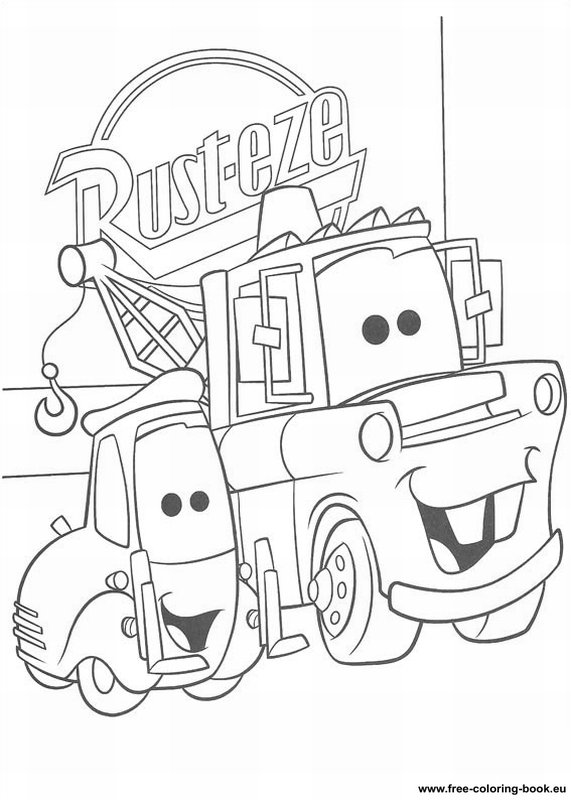 Coloring pages Cars Disney Pixar - Page 1 - Printable ...